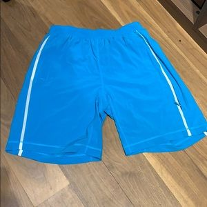 Lulu Lemon turquoise shorts